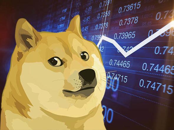 Le Dogecoin (DOGE).