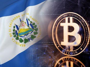 Adoption du Bitcoin au Salvador.